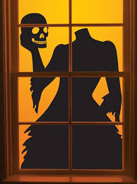 Glow In The Dark Halloween Window Decorations by 25 Scary Diy Halloween Window Silhouettes Home Design And Interior