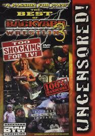 best of backyard wrestling 3 too shoc 0689967333309 amazon com