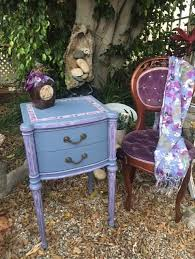 sold antique purple night stand or side table u2013 vintage accents