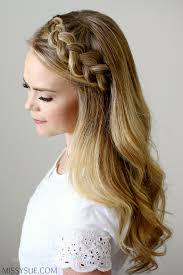 braided hair headband headband braid style like pro