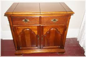 Solid Wood Buffet Table Nice Fold Out Top Solid Wood Buffet The American Craftsman