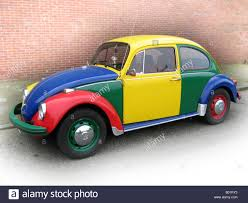 volkswagen harlequin for sale yellow volkswagen beetle car parked stock photos u0026 yellow