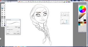 anna step by step in autodesk sketchbook pro by teamhans on deviantart