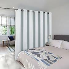 bedroom divider curtains amazon com nicetown room dividers curtains screens partitions