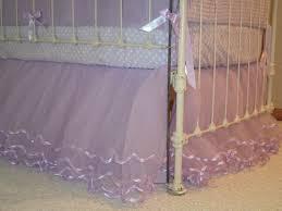 Pottery Barn Ruffle Crib Skirt Lilac Tulle Crib Skirt By Ilovemyblankie On Etsy 135 00 Baby U0027s