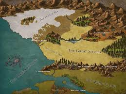 Clear Maps History My First Map With Inkarnate In Order To Have A Clear Idea Of The