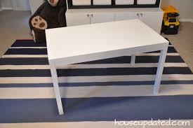 Ikea Table Top Hack Diy Kids U0027 Table For Art Legos And Other Such Fun House Updated