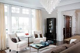 White Chairs For Living Room White Capiz Chandelier Transitional Living Room Decor