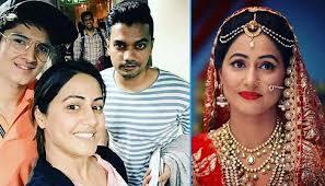 akshara wedding hairstyle hina khan aka akshara of yeh rishta kya kehlata hai shares her