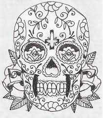 gallery day of the dead skull