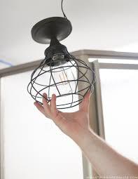 Rv Light Fixture Mountain Modern How To Update Rv Interior Lighting