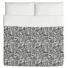 luxury zebra microfiber 3 piece duvet cover set free shipping on