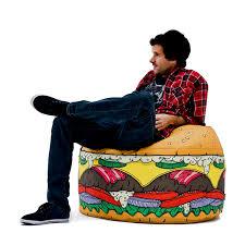 Where Can I Buy Bean Bag Chairs Burger Bean Bag House Things Pinterest Burgers Bean Bags