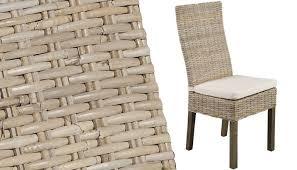 chaises en osier chaises en rotin great chaise rotin noir with chaises en