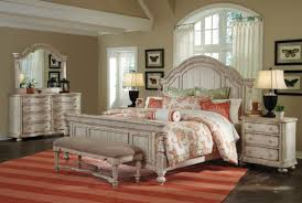 American Woodcrafters White Antique Bedroom Furniture Antique Furniture