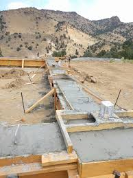 Poured Concrete House by House Update U2013 Footers Poured Castle Rock Homestead