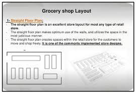 straight floor plan retail research