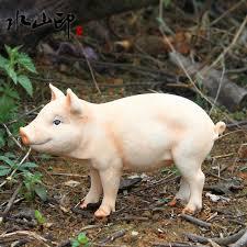 online shop garden decoration resin animals pig home lawn ornament