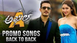 akhil promo songs back to back akhil akkineni sayyeshaa saigal