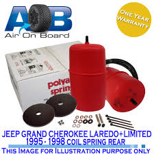 polyair suspension kit air bag to suit jeep grand cherokee laredo