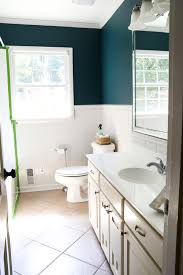 diy painted bathroom sink countertop bless u0027er house