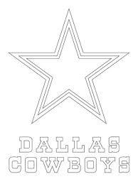 nfl dallas cowboys star font reuseable stencil free usa