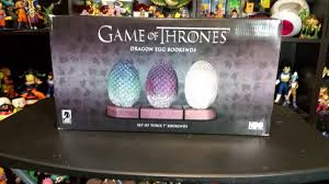 game of thrones dragon egg bookends 7