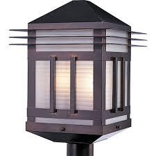 outdoor post mount lights maxim lighting gatsby 2 light burnished outdoor pole post mount