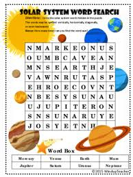 primaryleap co uk science worksheet solar system word search