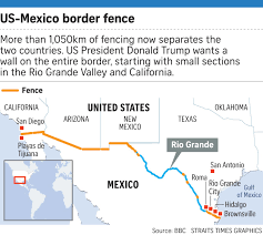 Map Of Tijuana Mexico by Donald Trump U0027s Wall Project Not Sitting Well On The Border United