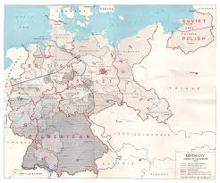 Maps Of Germany by Allies Occupation Zones Of Germany In 1945 Os 1206x1024 Mapporn