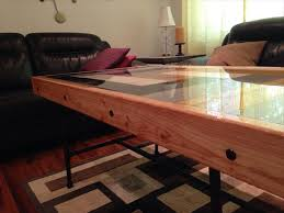 Epoxy Table Top Ideas by Pallet Coffee Table With Epoxy Smooth Top 101 Pallets