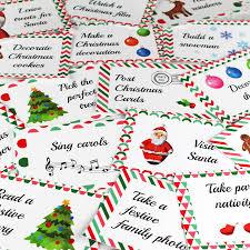 christmas advent calendar activity cards by betty bramble