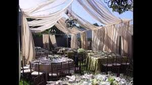 best small garden wedding decorations youtube