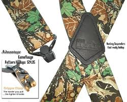 Comfortable Suspenders Holdup 2x4 Outdoorsman Suspenders Are Perfect For Hunters And