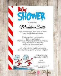 Dr Seuss Baby Shower Invitation Wording - thing 1 thing 2 twin baby shower printable by kateogroup on etsy