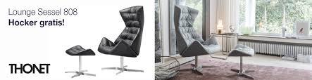 Esszimmerst Le Design Leder Thonet Stühle Im Thonet Bauhausstil Bei Einrichten Design
