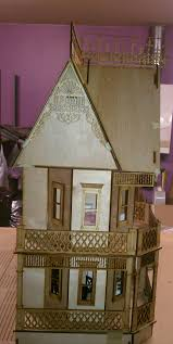 farmhouse wrap around porch victorian gingerbread farmhouse 1 12 scale 9 rooms w wraparound