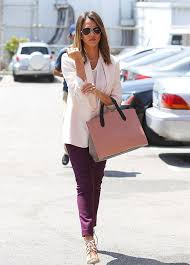 Plum Skinny Jeans Jessica Alba Celeb Style Shop American Made Purple Jeans Bullet Blues