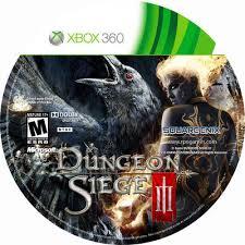 dungeon siege 3 xbox 360 dungeon siege iii ntsc covers covers hut