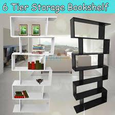 Tiered Bookshelf Ladder Bookcase Ebay