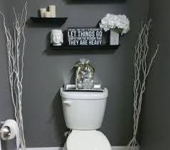 Grey Bathrooms Decorating Ideas Half Bathroom Decorating Ideas Bathroom Home Design Ideas And