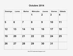 imagenes calendario octubre 2015 para imprimir calendario octubre 2014 para imprimir calendario 2014 para imprimir