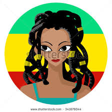rasta hairstyles for women dreadlocks hairstyle vector download free vector art stock
