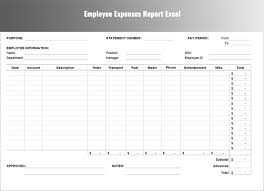 Excel Template Expense Report Sle Expense Sheet Template In A Business Setting To Create A