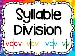 cv v vc orton gillingham syllable division gillingham syllable and division