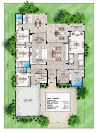 mediterranean floor plans house plan 75975 at familyhomeplans com