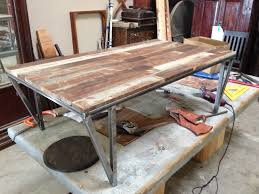 Custom Metal And Wood Furniture Home Design Unfinished Wood Coffee Tables Modern Table Inside