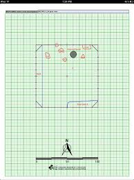 Graph Paper Floor Plan Mapping Units With Ipad E U0027se U0027get Archaeology Project