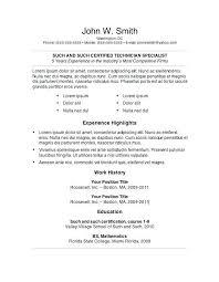 hybrid resume template word hybrid resume template paso evolist co